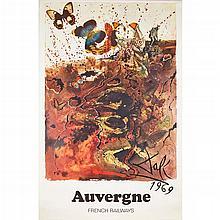§ SALVADOR DALI (1904-1989) FOR SNCF ELEVEN ORIGINAL POSTERS, CIRCA 1970 each 100cm x 62cm