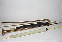 GROUP OF WALKING STICKS AND PARASOLS LATE 19TH / EARLY 20TH CENTURY