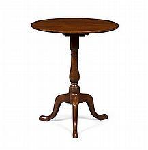 GEORGE III MAHOGANY TRIPOD TEA TABLE 18TH CENTURY 59cm wide, 71cm high, 60cm deep