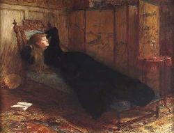 SIR WILLIAM QUILLER ORCHARDSON R.A., H.R.S.A. (1832-1910) DOLCE FAR NIENTE 75cm x 100cm (29.5in x 39.5in)