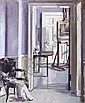 FRANCIS CAMPBELL BOILEAU CADELL R.S.A., R.S.W. (1883-1937) INTERIOR - 30 REGENT TERRACE 60cm x 50cm (23.5in x 19.75in), Francis Cadell, Click for value