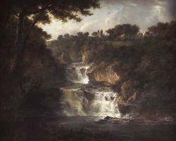 ALEXANDER NASMYTH (1758-1840) FALLS OF CLYDE 100cm x 122cm (39.5in x 48in)