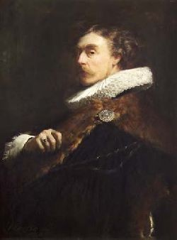 JOHN PETTIE R.A., H.R.S.A. (1839-1893) IN THE COSTUME OF THE 17TH CENTURY 80cm x 60cm (31.5cm x 23.5cm)