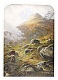 WALLER HUGH PATON R.S.A., R.S.W. (1828-1895) THE HILL OF THE FAIRIES, STRATHYRE 54cm x 38cm (21.25in x 15in), Walter Hugh Paton, Click for value