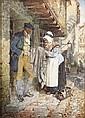 ERSKINE NICOL R.S.A., A.R.A (1825-1904) AW AE WOO?OU AY! AW AE WOO? 32cm x 24cm, Erskine Nicol, Click for value