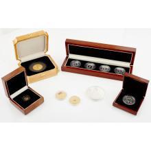 TRISTAN DA CUNHA - A set of four proof 60th Anniversary EIIR crowns