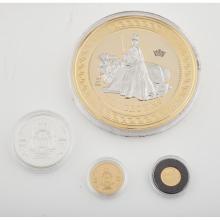 TRISTAN DA CUNHA - A proof Diamond Jubilee, quarter sovereign