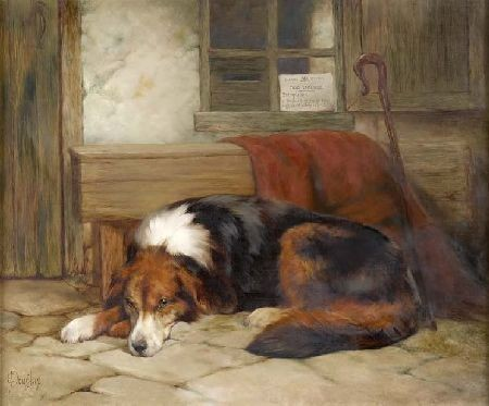 EDWIN DOUGLAS (1848-1914) NO LICENCE REQUIRED 51cm x 61cm (20in x 24in)