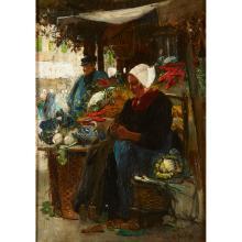 Flora Reid Paintings for Sale | Flora Reid Art Value Price Guide