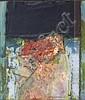 § TOM HUTCHESON R.G.I. (SCOTTISH CONTEMPORARY) ABSTRACT 21cm x 18cm (8.25in x 7in), Tom Hutcheson, Click for value