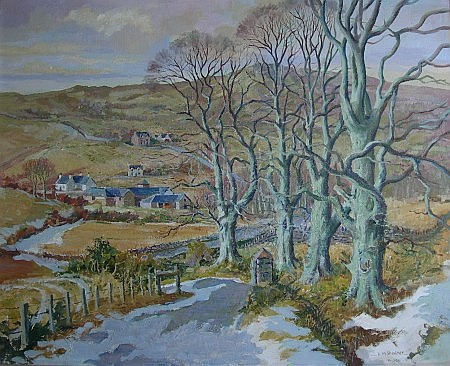 § DONALD M. SHEARER (SCOTTISH B. 1925) BALMACARA 50cm x 60cm (19.75in x 23.5in)