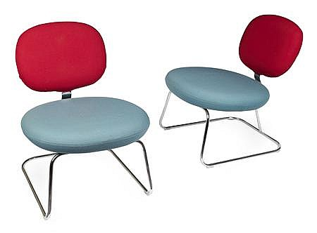 JASPER MORRISON FOR ARTIFORT PAIR OF VEGA CHAIRS
