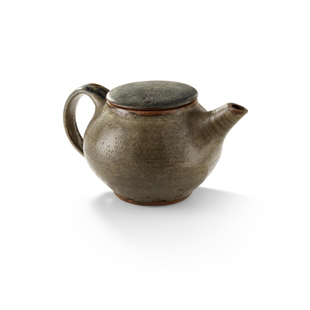 § BERNARD LEACH (BRITISH 1887-1979) (ATTRIBUTED TO) AT LEACH POTTERY TEAPOT, 1920s