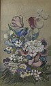 MARY NEWBERY STURROCK (1892 -1985) SUMMER FLOWERS 50cm x 30cm, Mary Newbery, Click for value