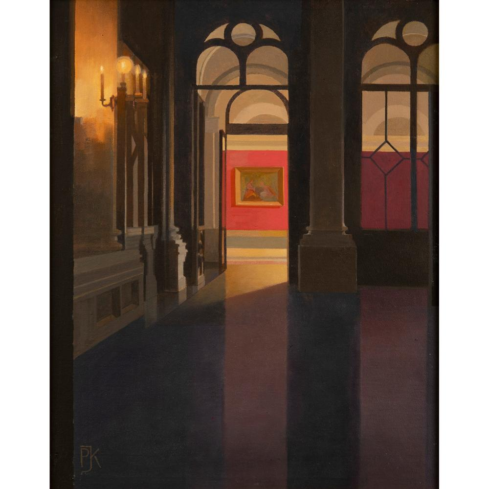 § Peter Kelly N.E.A.C. R.B.A. (British 1931-2019) Entrance to the Red Room, Yusupov Palace, St. Petersburg