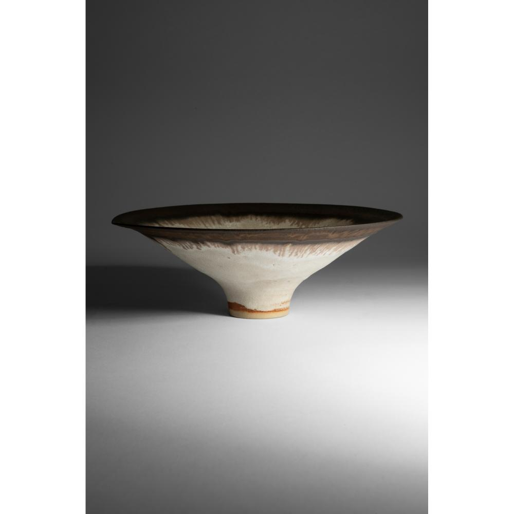 § Dame Lucie Rie D.B.E. (British 1902-1995) Footed Bowl
