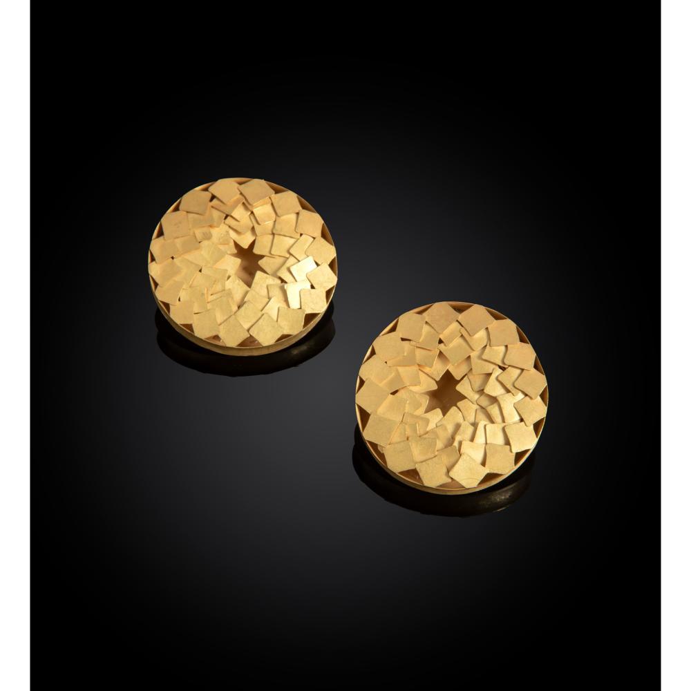 § Jacqueline Ryan (British 1966-) Pair of Earrings, 1994