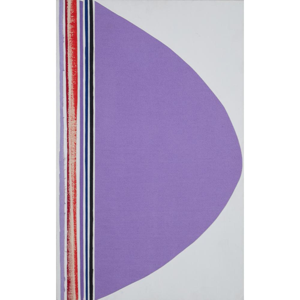 § Sir Terry Frost R.A. (British 1915-2003) Composition with Purple, Red, Blue and Black