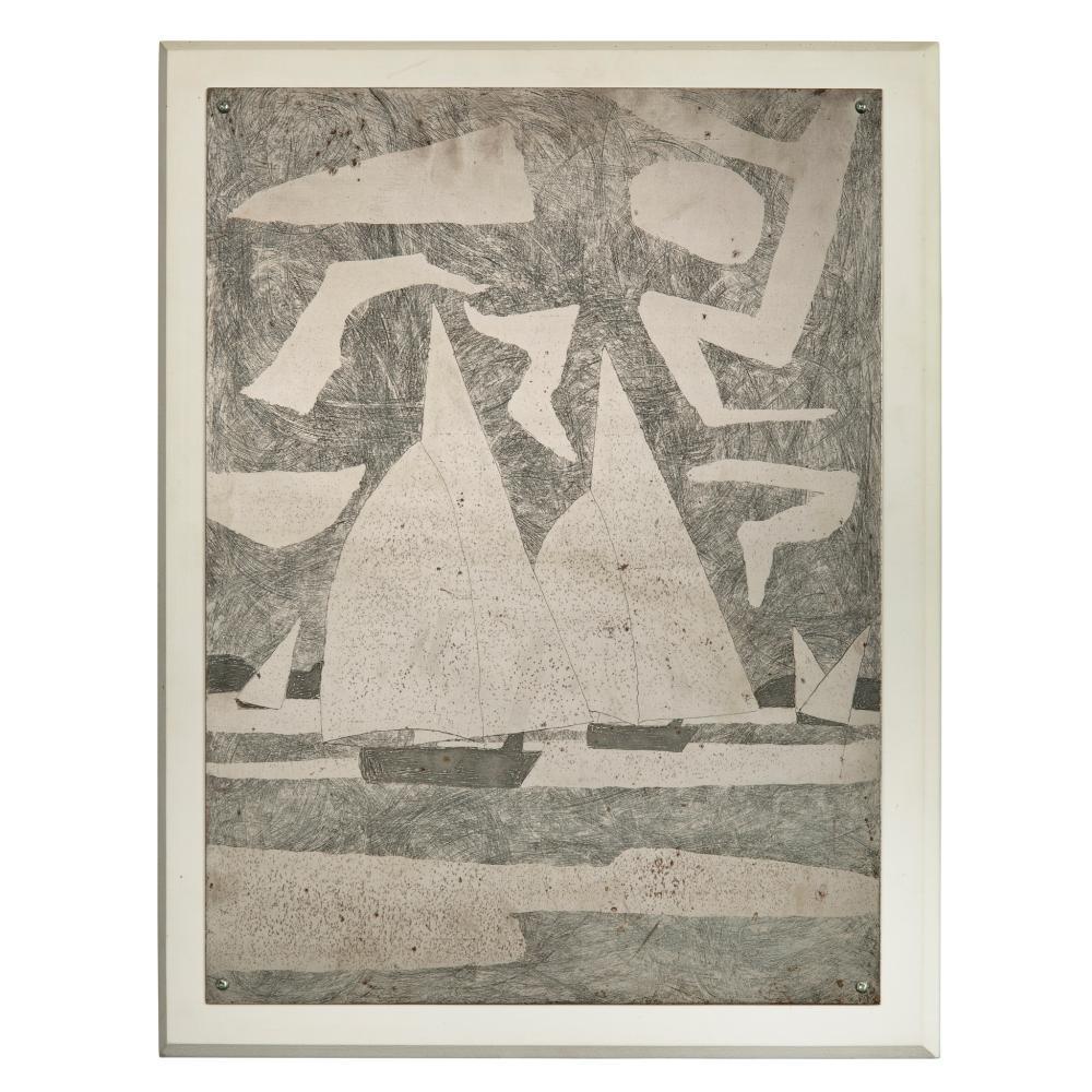 § Julian Trevelyan (British 1910-1988) Spinnakers, 1971