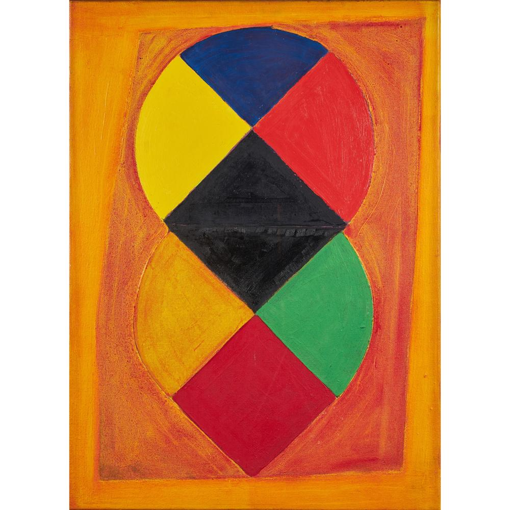§ Sir Terry Frost R.A. (British 1915-2003) Orange and Yellow, 1976/77