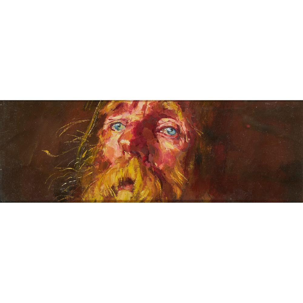 § Robert O. Lenkiewicz (British 1941-2002) Albert Fisher 'The Bishop'