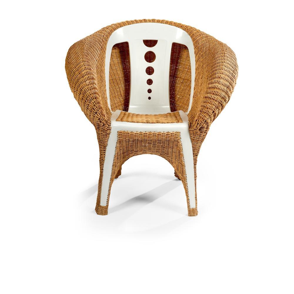 Fernando and Humberto Campana (Brazilian 1961- and 1953-) Transplastic Chair, designed 2006