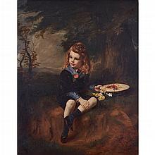 JAMES ARCHER R.S.A. (SCOTTISH 1824-1904) PORTRAIT OF THEODORE RODEN FOTHERGILL OF LOWBRIDGE HOUSE (1868-85) 141cm x 110cm (55.5in x...