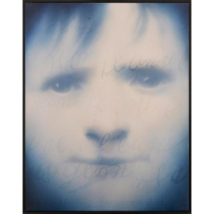 [§] KEN CURRIE (SCOTTISH B.1960) IDIOT BOY 100cm x 78cm (39.5in x 30.75in)