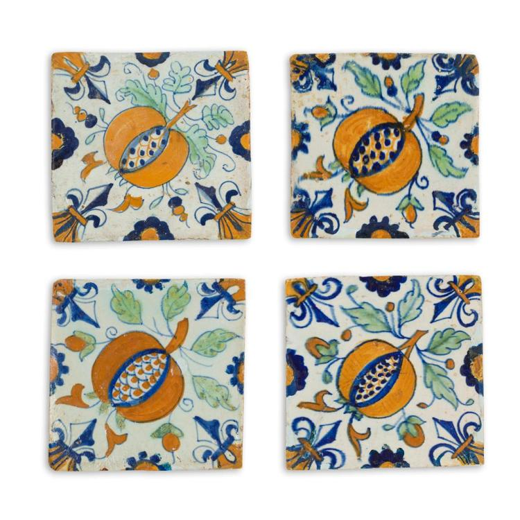 COLLECTION OF DELFT TILES 18TH / 19TH CENTURY 13cm x 13cm approx.