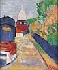 DONALD BAIN (1904-1979) SACRE COEUR, MONTMARTRE 54cm x 45cm (21.25in x 17.75in), Donald (1904) Bain, Click for value