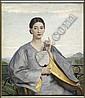 JOHN BULLOCH SOUTER (SCOTTISH 1890-1972) GIRL, John Bulloch Souter, Click for value