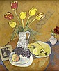 DENIS PEPLOE R.S.A (SCOTTISH 1914-1993) TULIPS, Denis Frederic Neal Peploe, Click for value