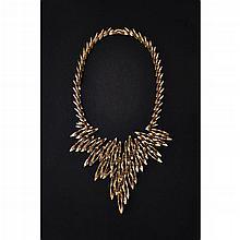 A contemporary Swiss necklace Length: 41cm