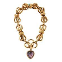 A Victorian bracelet Length: 22cm
