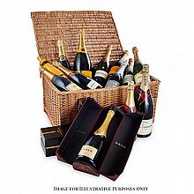 CHAMPAGNE, COGNAC - A mixed group