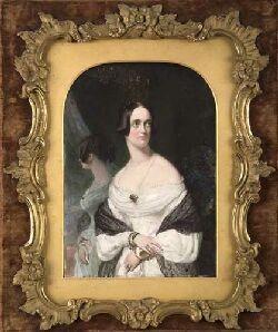 ROBERT THORBURN ARA HRSA (1818-1885) PORTRAIT OF A LADY 21.7cm x 14.5cm (8.5in x 5.75in)