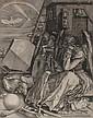 19TH CENTURY AFTER ALBRECHT DURER (GERMAN 1471-1528) MELENCHOLIA 23.5cm x 18cm (9.25in x 7in)
