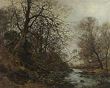 JOHN A. HENDERSON TARBET (SCOTTISH 1864-1937) SPRING'S AWAKENING 102cm x 127cm (40in x 50in)
