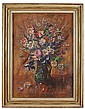 § MARY ARMOUR R.S.A., R.S.W (SCOTTISH 1902-2000) AUTUMN FLOWERS 76cm x 54cm (30in x 21.25in)