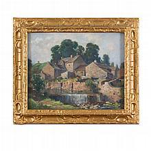 JAMES WHITELAW HAMILTON R.S.A., R.S.W. (SCOTTISH 1860-1932) RICHMOND 35.5cm x 46cm (14in x 18in)
