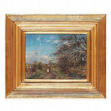 WILLIAM DARLING MCKAY R.S.A. (SCOTTISH 1844-1924) NEAR ABERLADY 25.5cm x 34.5cm (10in x 13.5in)