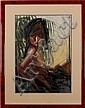 Nico Vrielink, silkscreen on paper, female, Nico Vrielink, Click for value