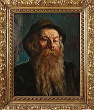Adolf Hacker, Portrait South German man with beard
