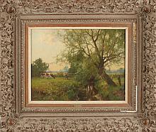 Jan Holtrop, Beek with pollard willow