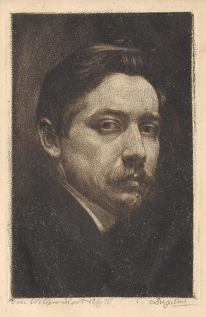 Dirk Harting (Saratoga 1884 - Haarlem), mezzotint