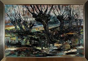 Henri Kley (Delft 1903 - 1977), olieverf op