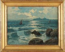 E. Pasini, Oriental seascape