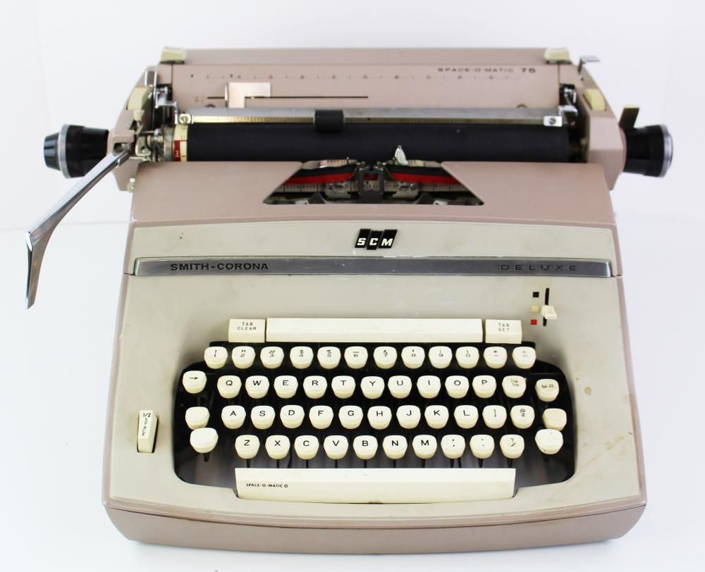 Jack Kerouac's Own Typewriter From His Estate Used to Write His Very Last Book!