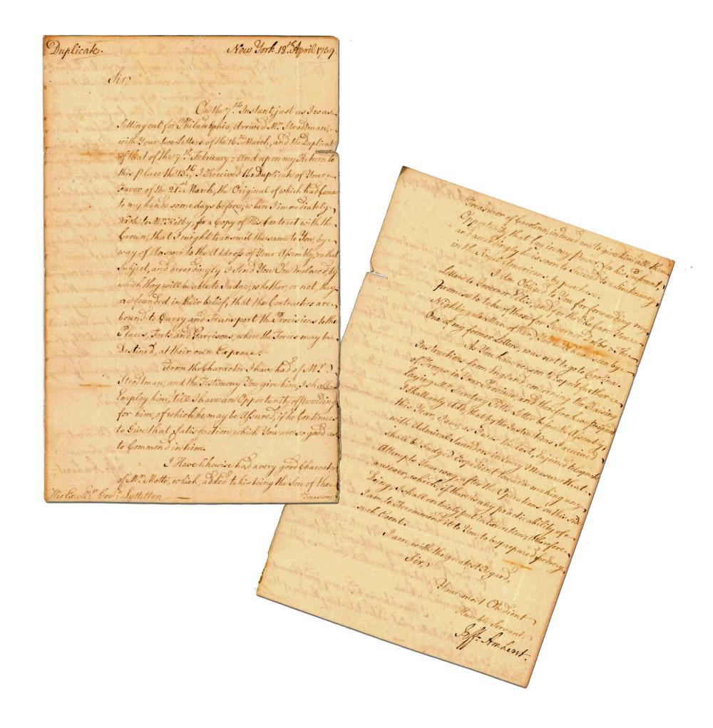 J. Amherst Superb Letter