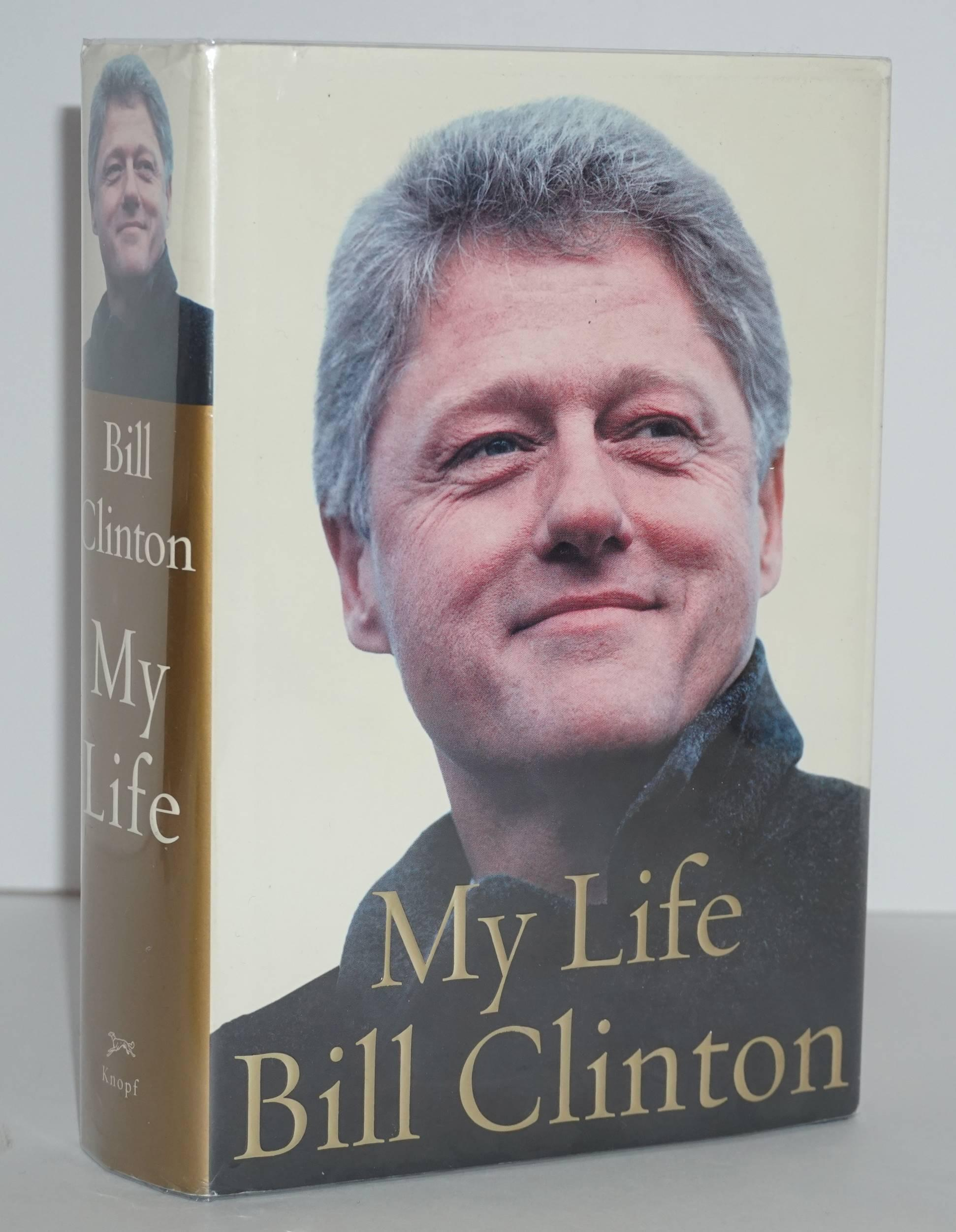 "Bill Clinton Signed Book, ""My Life"""